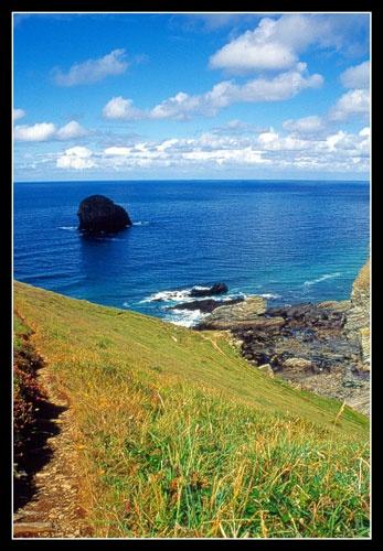 Cornish Coast by eos3