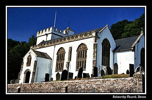 Selworthy Church by alison duckett