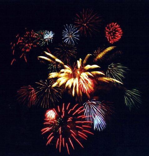 Fireworks on Venice Beach by liparig