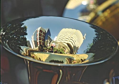 Toronto Reflection by minoltaandy