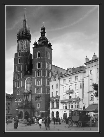 Krakow Spires by martynj