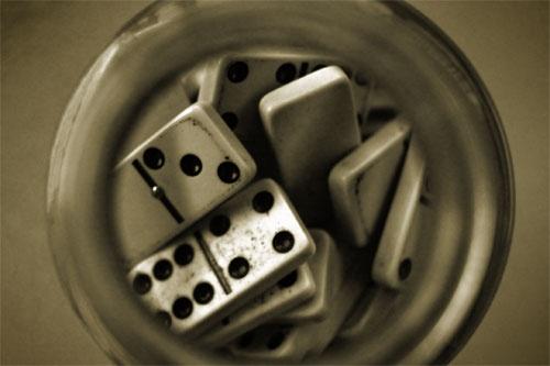 old dominoes by kelart