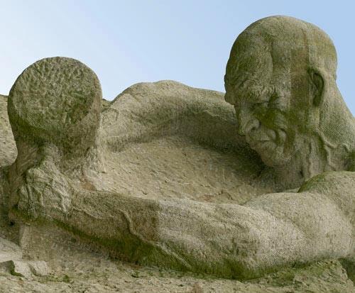 Stone age man? by loosecanon