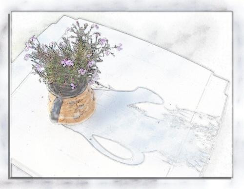 Flower pot by ckurle