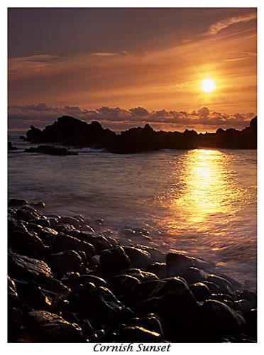 Cornish Sunset by corin45
