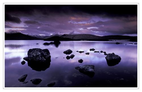 dawn at Rannoch Moor by bravo charlie
