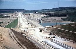M62 under construction