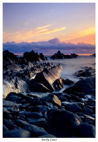 Rocky Coast by corin45