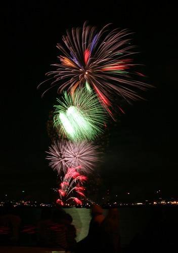 Cowes Week Fireworks by gmuncaster