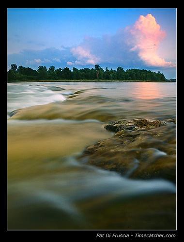 Golden River by Timecatcher