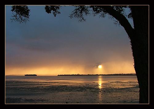 Stormy Sunrise by dalowsons