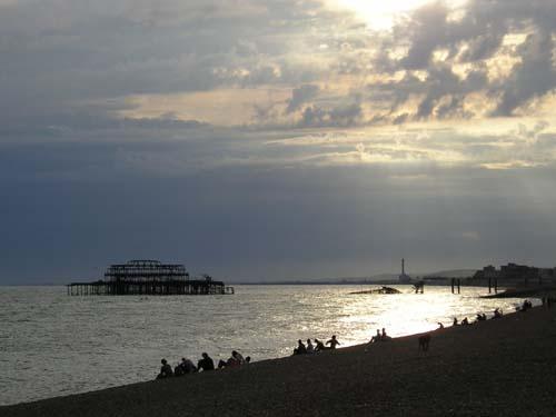 evening in Brighton by grumpalot