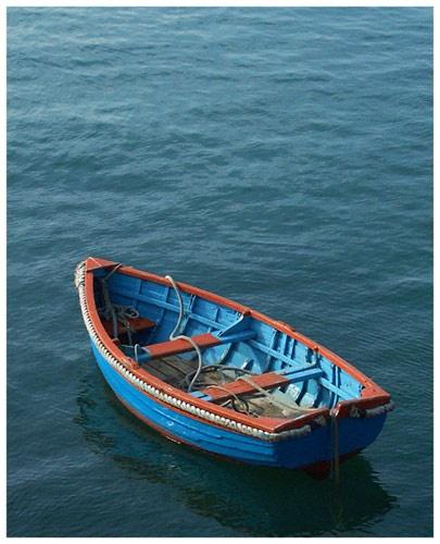 "\""Ahoy\""  Orange & Blue by stephen2406"