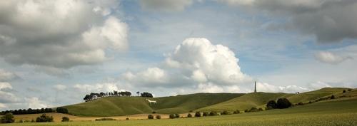 Cherhill White Horse by rogerbryan