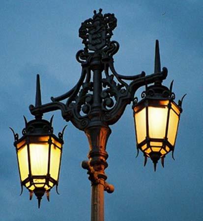 evening lamps by grumpalot