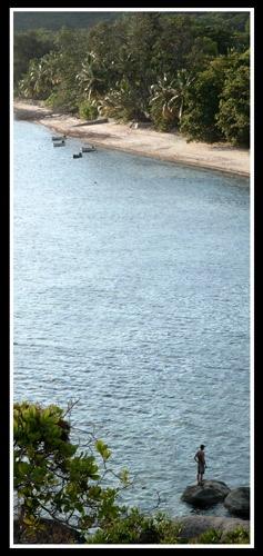 Fishing boy, Seychelles by bigbed