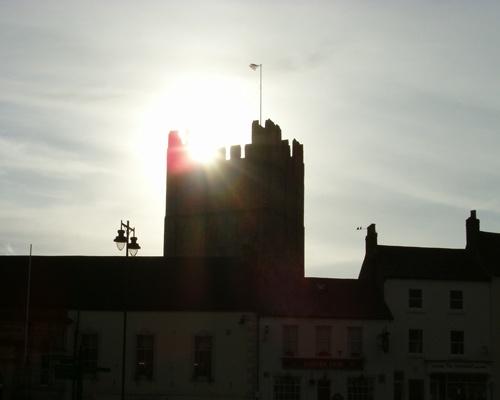 Castle Sunlight by choosethefinetime