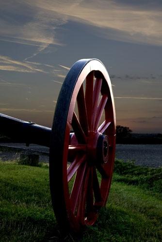 Windmill wheel at dusk by stephan.mcdonald