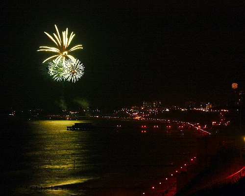 Fireworks over the Bay by brian1208
