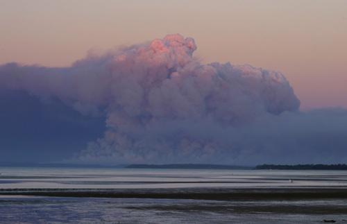 Fire On Fraser Island by adamm