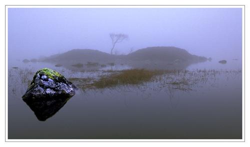 Misty Isle, Rannoch Moor by bravo charlie
