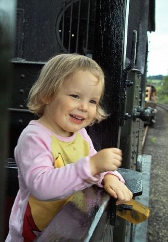 i like trains - I do by bargee