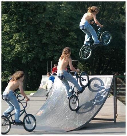 BMX Triplet by leedsgh
