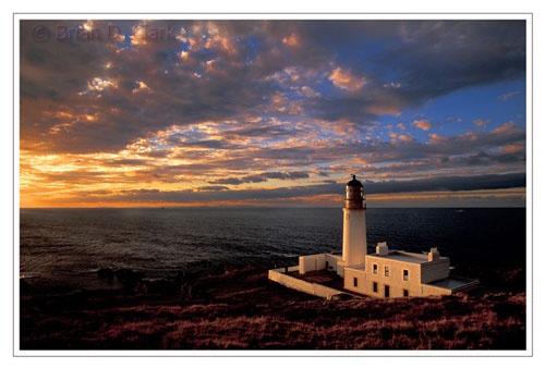 Rubha Reidh Lighthouse, Wester Ross by bravo charlie