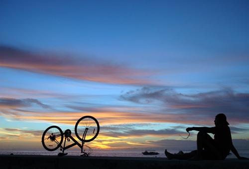 sunset by shidee