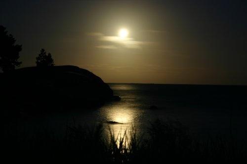 Full moon spook by lanttis