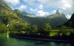 Idyllic Valley, Norway
