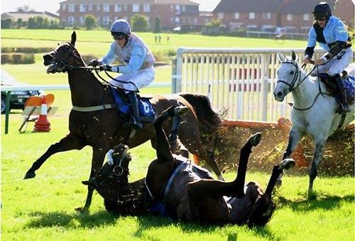 Lost Jockey by una