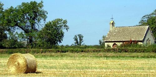 bale & church by grumpalot