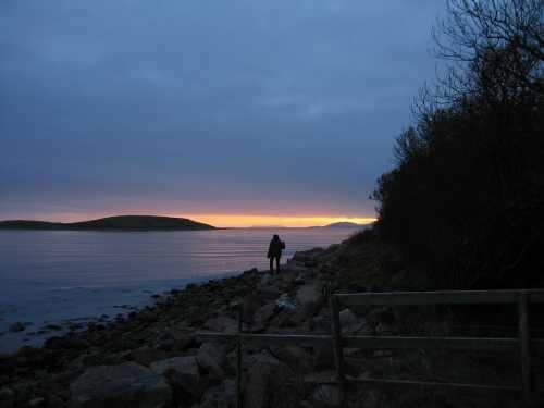 A Solitary Walk by ferozsanaulla