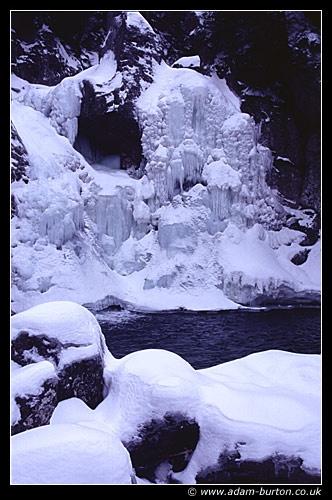 Frozen Falls by adamburton