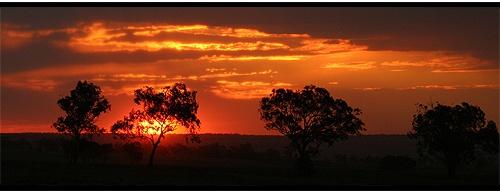 Rainy Sunset 2 by eafy