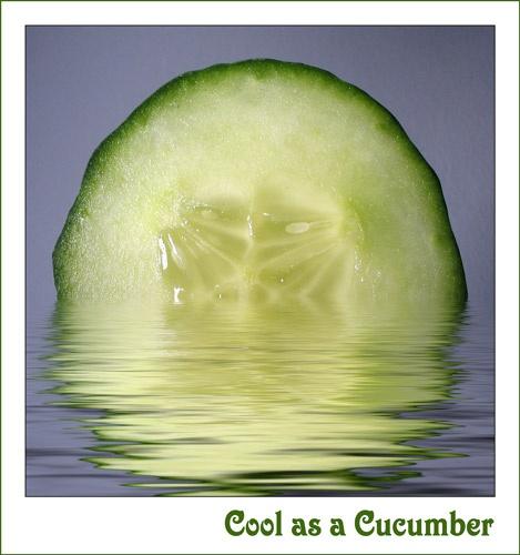 Cool as a Cucumber by ejtumman