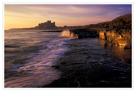 Morning Light, Bamburgh by bravo charlie
