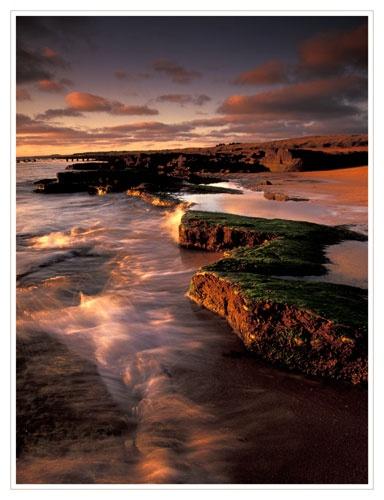 dawn on the Fife coast by bravo charlie