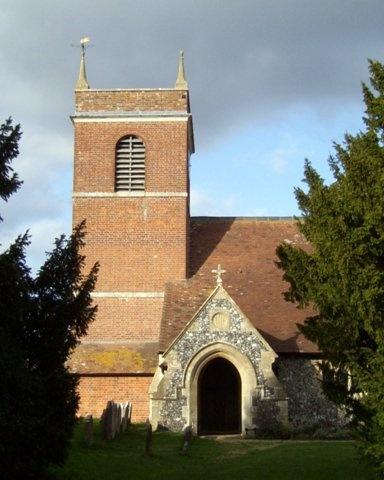 Beenham Church by speybay