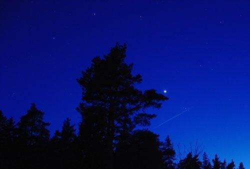 Night Sky by lanttis