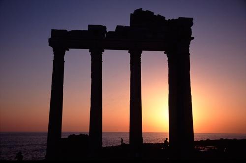 The Temple of Apollo by neptune