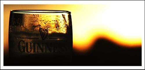 Guiness Sunset by leedsgh