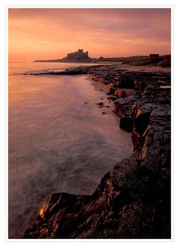 Bamburgh shore by bravo charlie