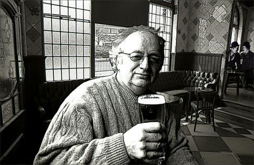 Bob at Laurel and Hardys pub {Barton Arms,Birmingham} by victorburnside