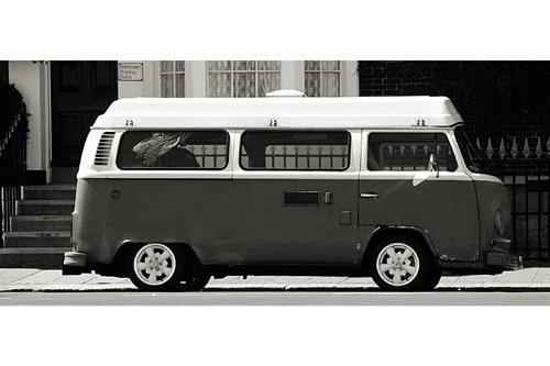 VW camper van by amber