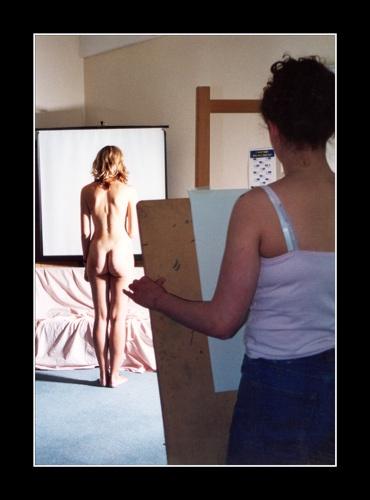 Life Drawing by mucharska