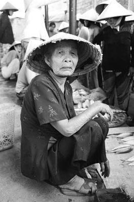 Elderly Vietnamese by mr_s