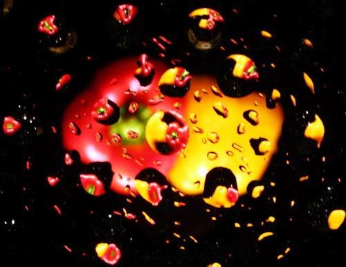 Water drops by sun yin