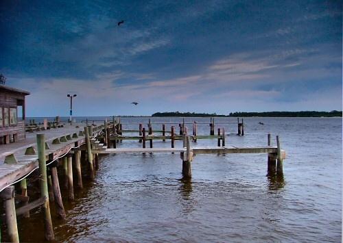 Cedar Key Dock by ustaosma